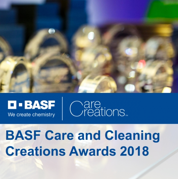 BASF Care and Cleaning Creations Awards 2018